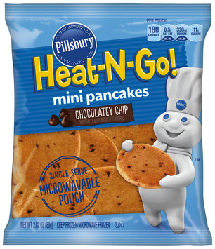 Pillsbury® Heat-N-Go! Chocolatey Chip Mini Pancakes