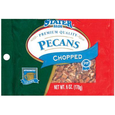 Stater Bros. Chopped Pecans 6 Oz Peg