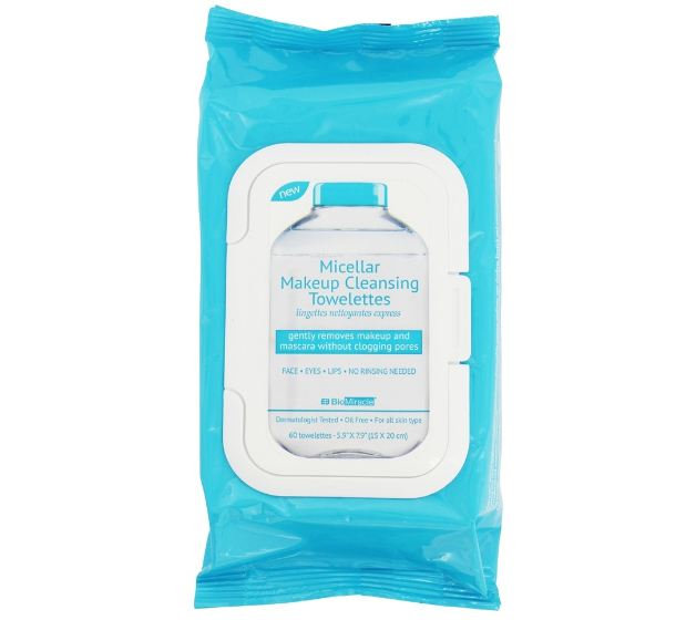 BioMiracle® Micellar Makeup Cleansing Towelettes