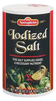 Springfield Iodized Salt 26 Oz Canister