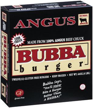 Bubba Burger® 100% Angus Burgers 12 ct Box