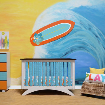 Go Mama Go Doctor Approved Wonder Crib Size: 38 Pack, Color: Periwinkle / White