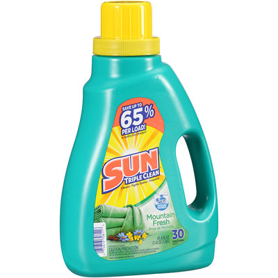 Sun® Mountain Fresh Laundry Detergent 30 Loads 45.4 Fl Oz Plastic Jug