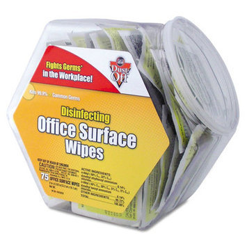 Falcon Safety Products Falcon Safety DODHJ Disinfecting Wipes-office Share Pack 200 Individual Wipes