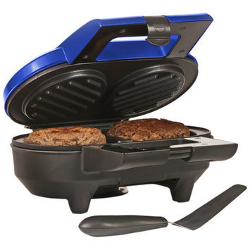 Holstein Housewares Burger Grill Color: Metallic Blue