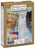 Snoqualmie Falls Lodge Baking Powder Old Fashioned Biscuit Mix 24 Oz Box