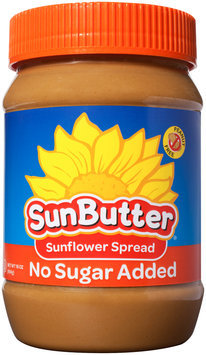 SunButter® No Sugar Added Sunflower Spread