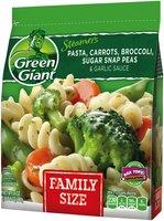 Green Giant® Steamers Pasta, Carrots, Broccoli, Sugar Snap Peas & Garlic Sauce 24 oz. Bag