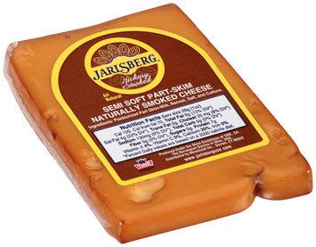 Jarlsberg® Hickory Smoked Semi Soft Part-Skim Naturally Smoked Cheese Pre-Cut 8 oz. Wedge, Random Weight