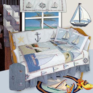 Patch Magic Nautical 9 Piece Crib Bedding Set