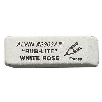 Alvin & Company Alvin 2303AE White Rose Eraser 40pcs