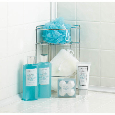 Sunrise Ocean Oasis Bath Caddy Spa Set, Home Locomotion