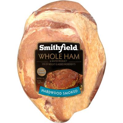 Smithfield® Hardwood Smoked Whole Ham & Water Product Pack