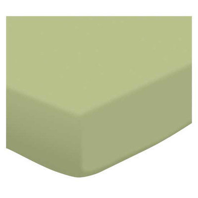 Stwd Solid Jersey Knit Crib Sheet Color: Sage