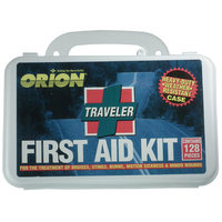 Orion Safety Products 128 Piece Traveler First Aid Kit