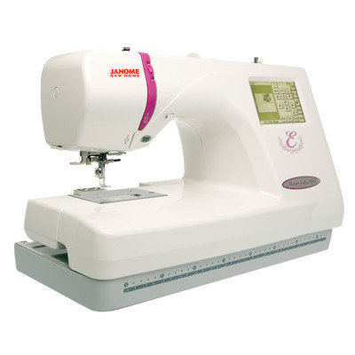 Janome Memory Craft 350E Embroidery Machine