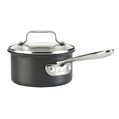 Emerilware Hard-Anodized 1-qt Sauce Pan With Lid