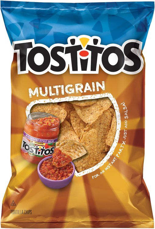 Tostitos® Multigrain Tortilla Chips 9 oz. Bag