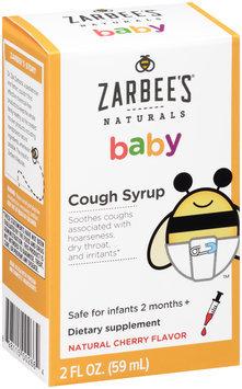 Zarbee's® Naturals Children's Cough Syrup Dietary Supplement Liquid 2 fl. oz. Box
