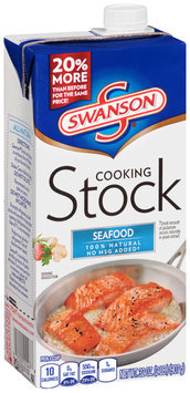 Swanson® Seafood Cooking Stock 32 oz. Aseptic Pack