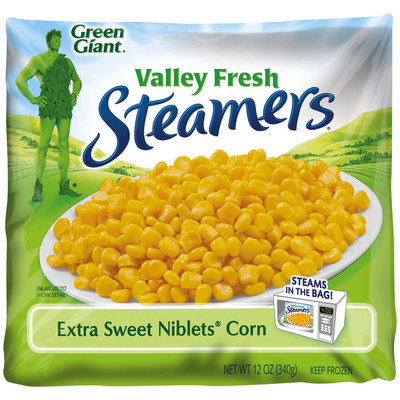 Green Giant® Valley Fresh Steamers® Extra Sweet Niblets® Corn 12 oz. Bag