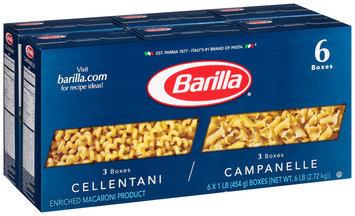 Barilla Cellentani/Campanelle Variety Pasta