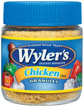 Wyler's® Instant Bouillon Chicken Flavor Granules 6.25 oz. Jar