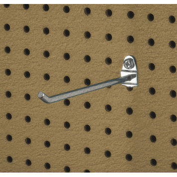 Triton Products Llc Triton Products 71813 Zinc Plated Steel Pegboard Hook for DuraBoard, 5 Pack