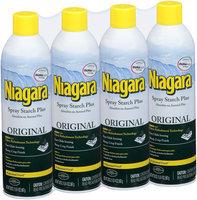 Niagara® Original Spray Starch Plus 4-20 oz. Aerosol Cans