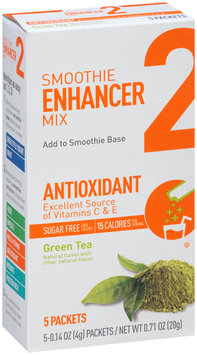 Smoothie Enhancer Mix 2 Antioxidant Green Tea 5-0.14 oz. Packets
