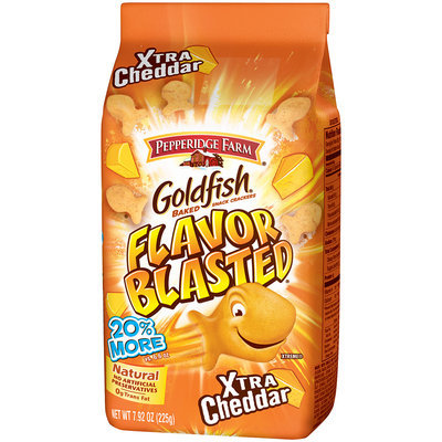 Goldfish® Flavor Blasted® Xtra Cheddar Baked Snack Crackers