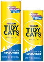 Purina Tidy Cats Cat Litter Deodorizer Family Group Shot