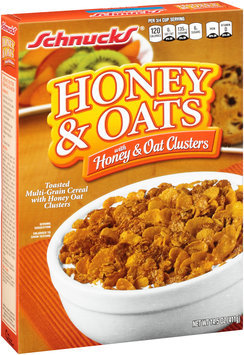Schnucks® Honey & Oats with Honey & Oat Clusters Cereal 14.5 oz. Box