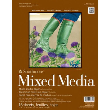 Pro-Art Strathmore Mixed Media Paper Pad, 11