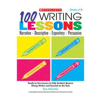 Scholastics Teacher 100 Writing Lessons Narrative