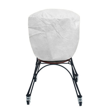 KoverRoos 53056 SupraRoos Supersize Smoker Cover White - 30 Dia x 57 H in.