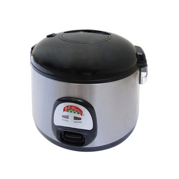 Mbr Industries 7-Cup Stainless Steel Thermo Deluxe Rice Cooker