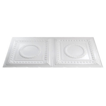 Fasade 24-1/2-in x 48-1/2-in Fasade Traditional Ceiling Tile Panel G54-00