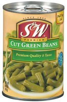 S&W® Cut Green Beans 14.5 oz. Pull-Top Can