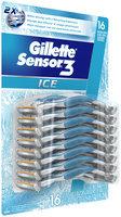 Gillette Sensor3 Ice Men's Disposable Razor