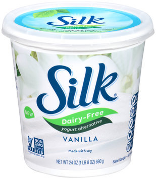 Silk® Dairy-Free Vanilla Yogurt Alternative 24 oz. Tub