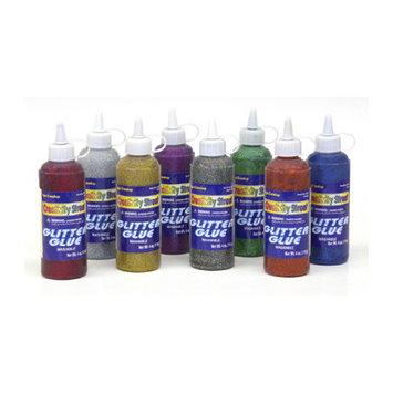 Chenille Kraft CK-8531 Glitter Glue Red 4 Oz