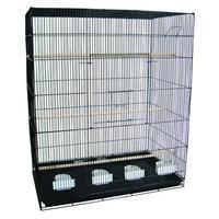 Yml Large Breeder Bird Cage Color: Black