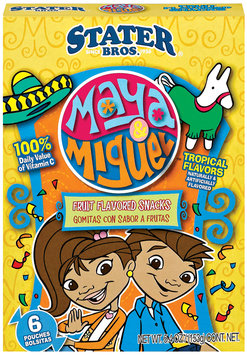Stater Bros. Maya & Miguel 6 Ct Fruit Flavored Snacks 5.4 Oz Box