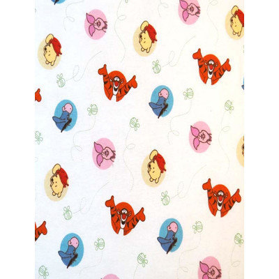 Stwd Winnie The Pooh and Friends Crib Sheet