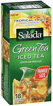 Salada® Green Tea for Iced Tea Tropical Fruit Flavored 3.17 oz.