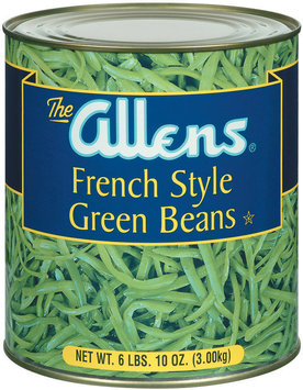 The Allens French Style Green Beans 106 Oz Can