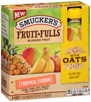 Smucker's® Fruit Fulls Tropical Fusion Blended Fruit 4.4 oz. Box