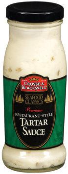 Crosse & Blackwell Restaurant Style Tartar Sauce 7 Oz Glass Bottle