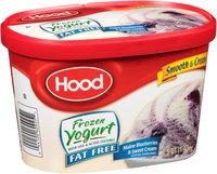 Hood® Fat Free Maine Blueberries & Sweet Cream Frozen Yogurt 1.5 qt. Carton